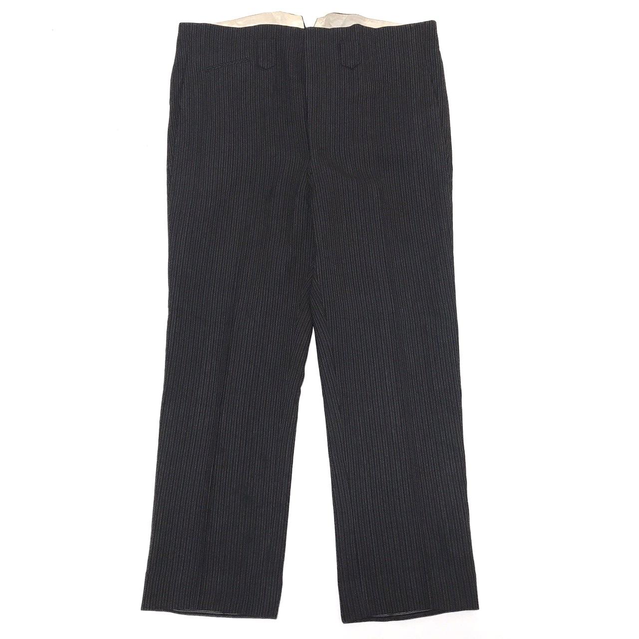① Vintage French Work Trousers Black Stripe