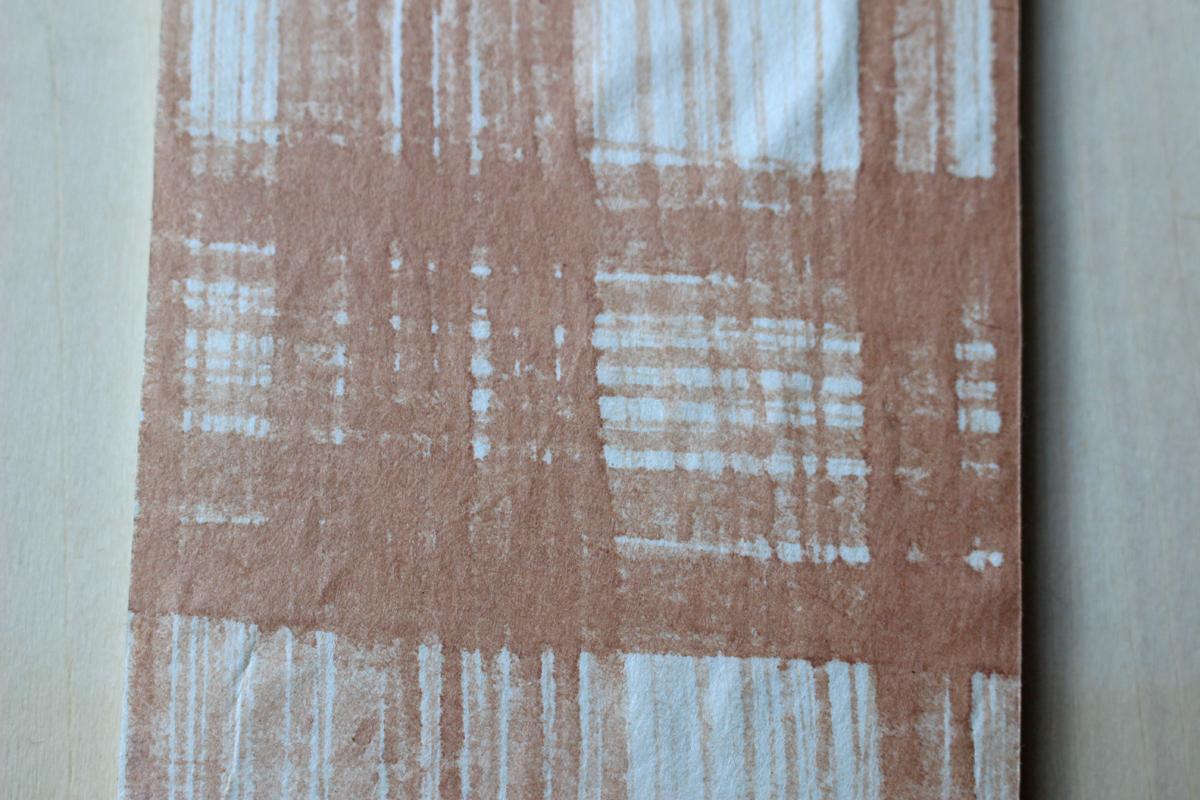 手漉き和紙の色染めワークショップ