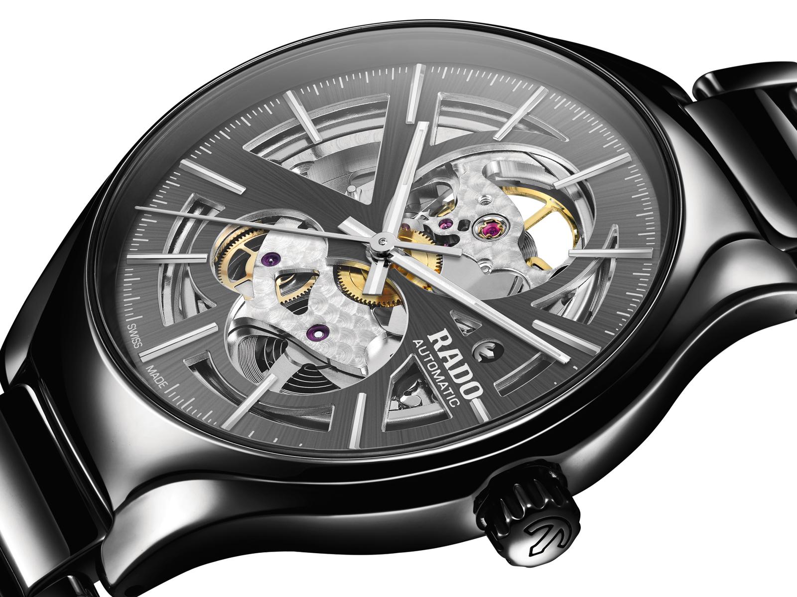 【RADO ラドー】True Open Heart BLACK/トゥルーオープンハート(ブラック)/国内正規品 腕時計