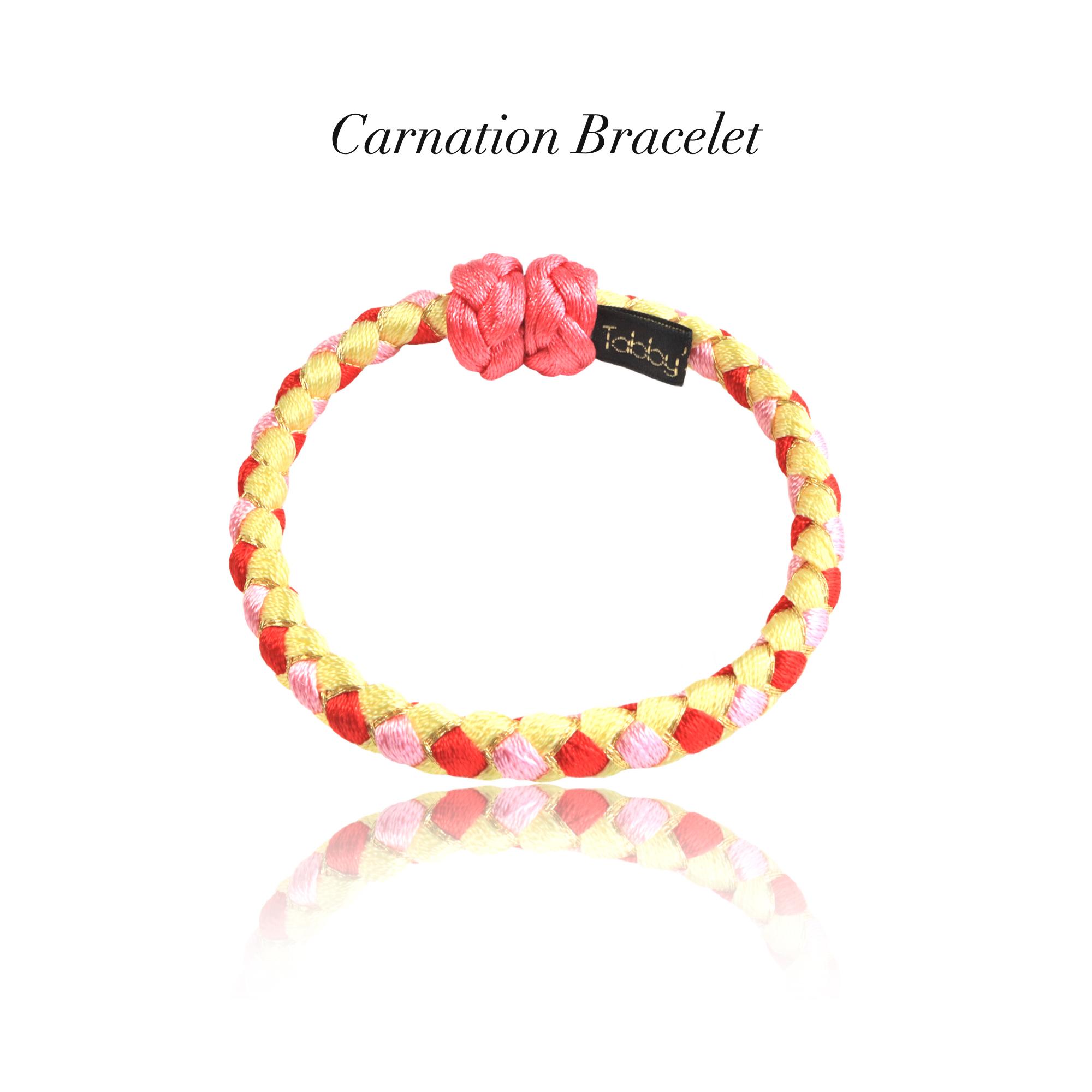 【アクセサリ】Carnation 組紐ブレスレット