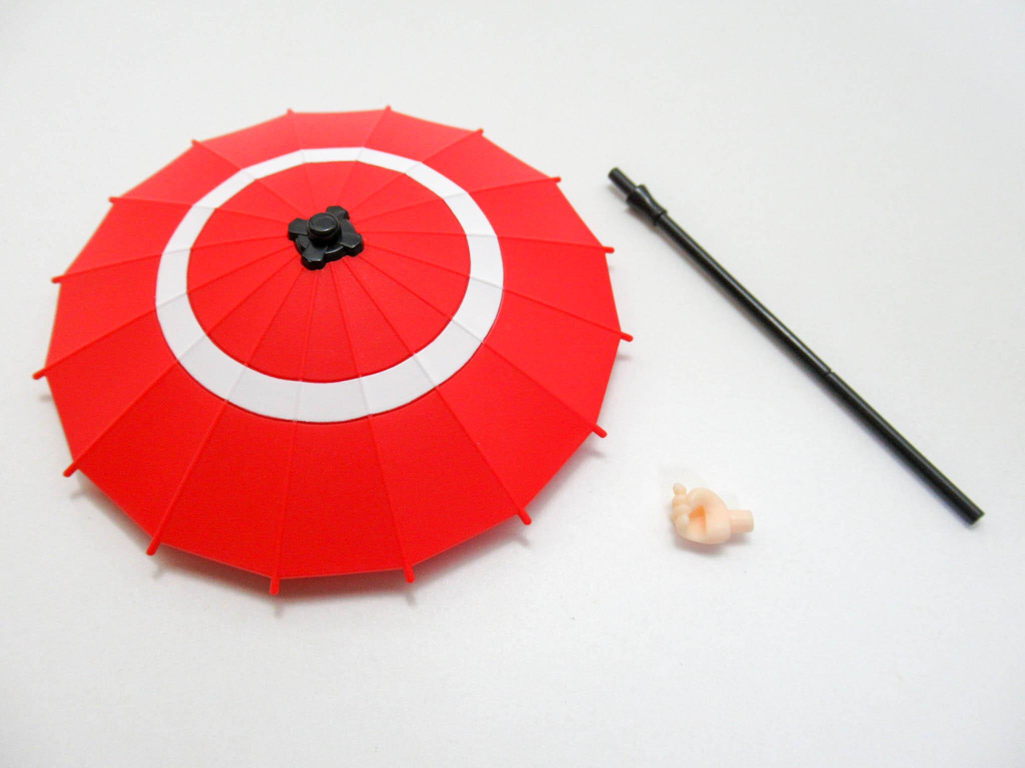 【SALE】【1427】 初音ミク 冬木小袖Ver. 小物パーツ 和傘 ねんどろいど