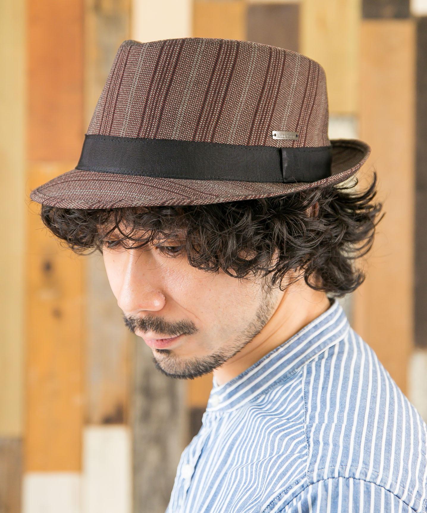 Stripe Hat 【ストライプハット】 ビッグサイズ