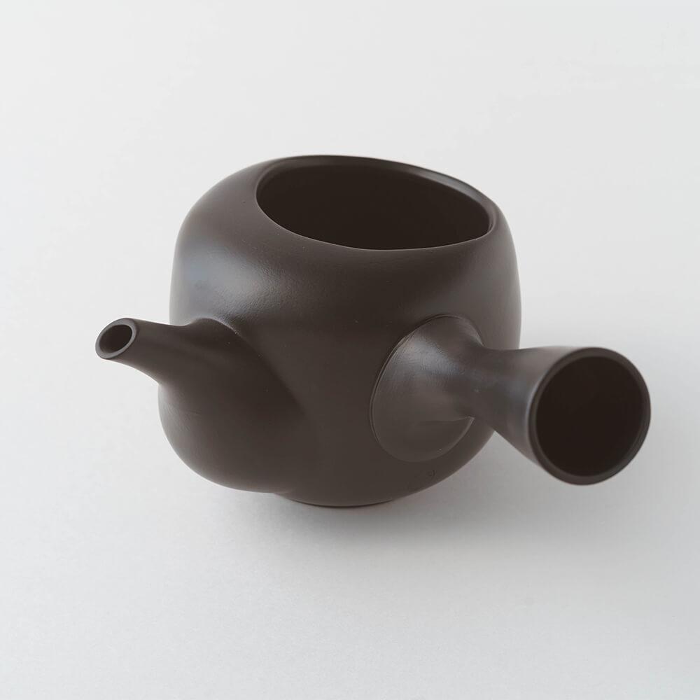 深蒸し茶用 オープン急須