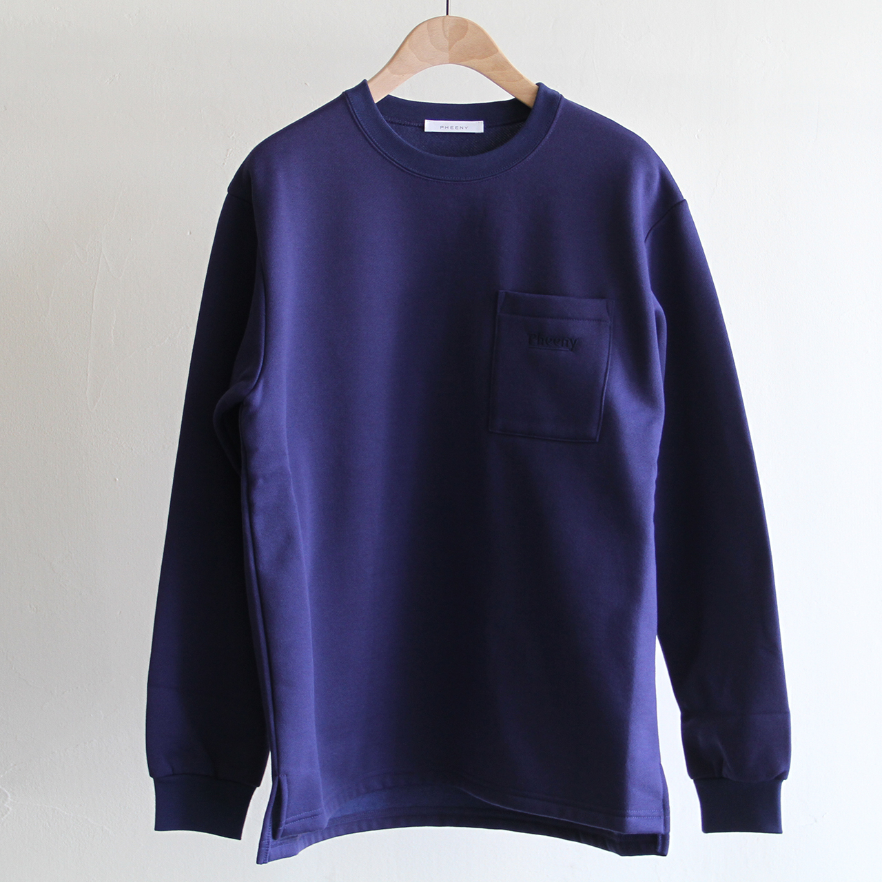 PHEENY 【 womens 】pocket long sleeve tee