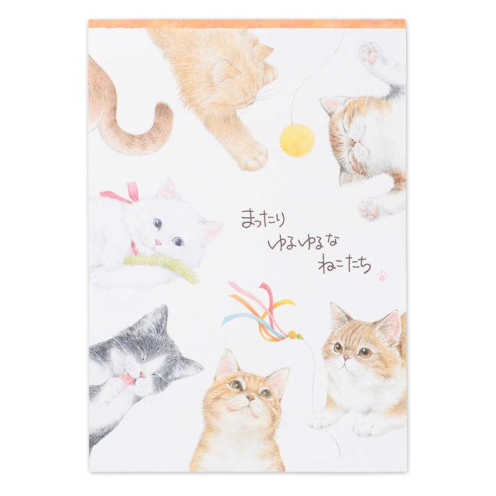 猫便箋(A5まったり)