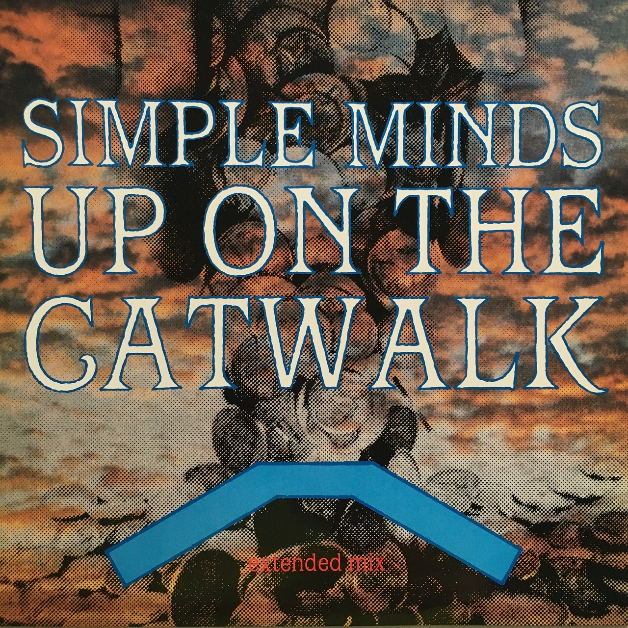 【12inch・英盤】Simple Minds / Up On The Catwalk (Extended Mix)
