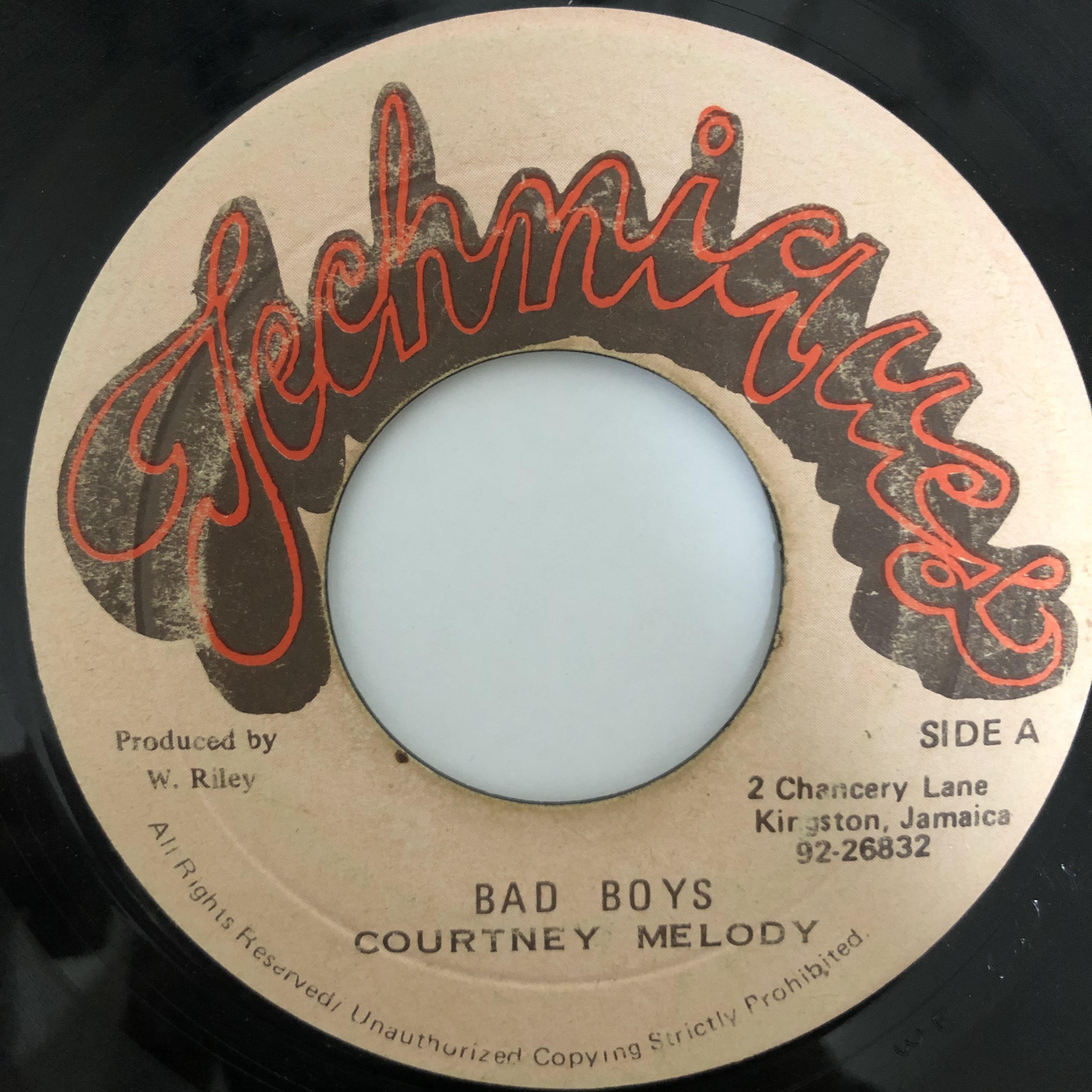 Courtney Melody - Bad Boy【7-20443】
