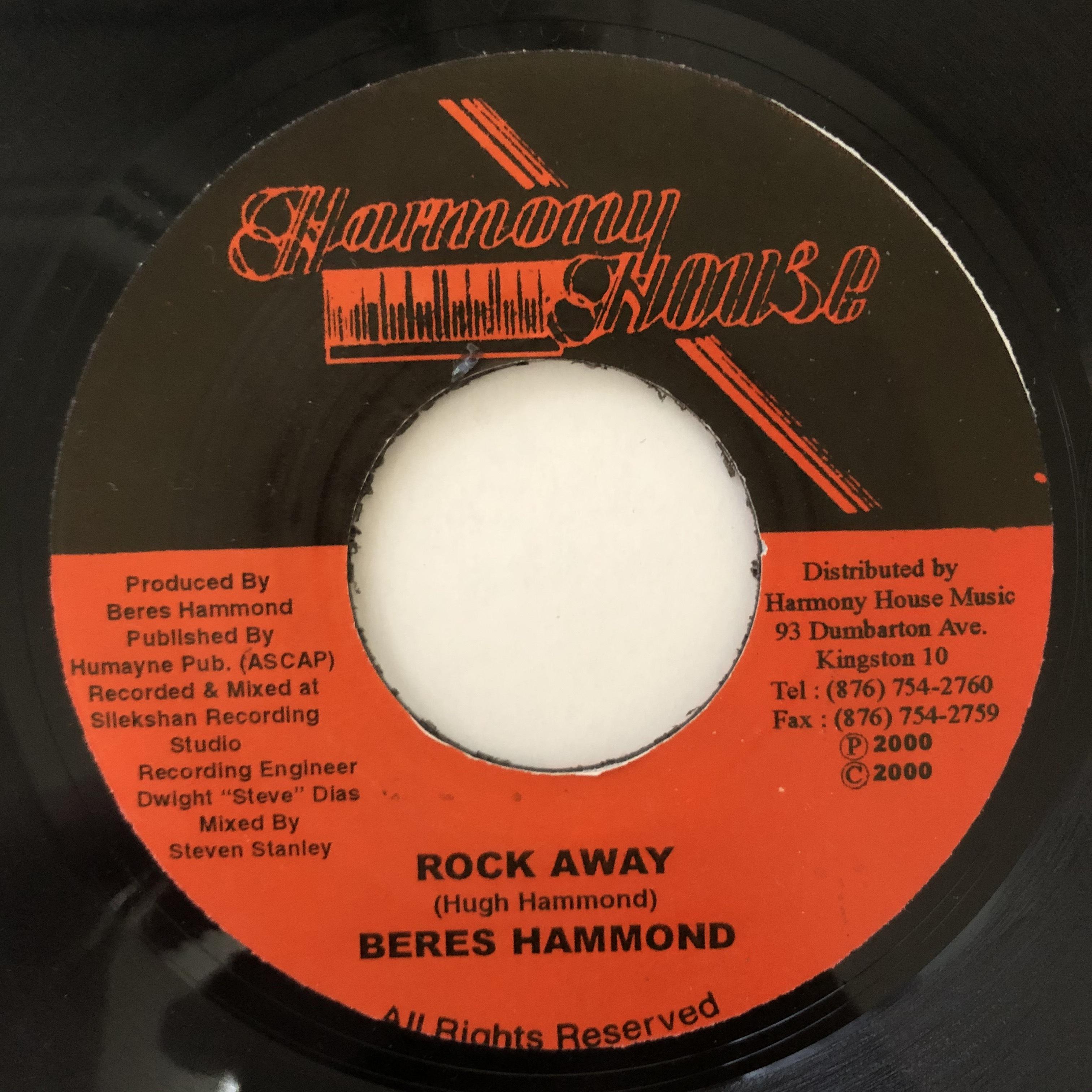 Beres Hammond - Rock Away【7-20680】