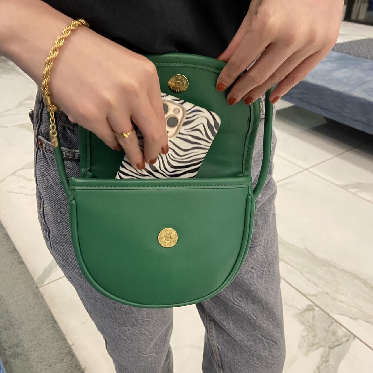 DAYNYC mini cross bag(green)