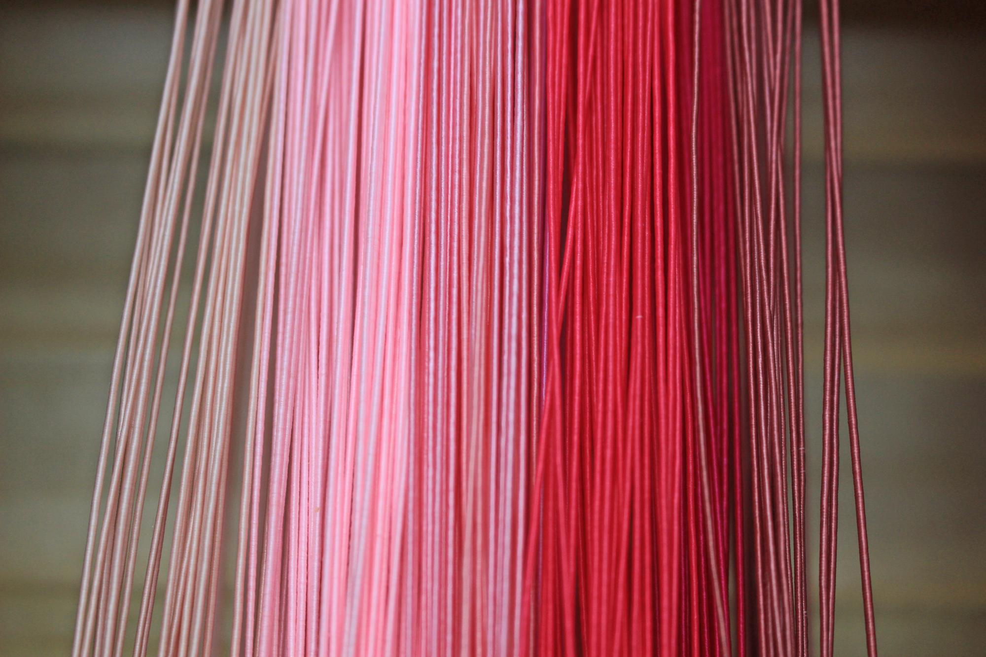 色鮮やか水引<ピンク色&パープル色>シリーズ