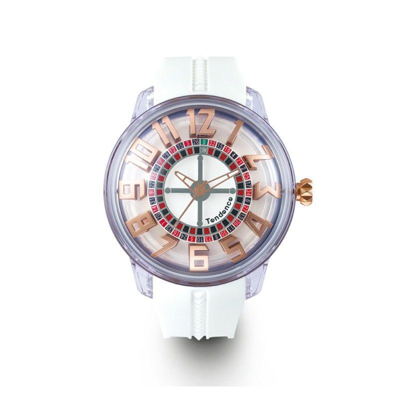 【Tendence テンデンス】TY023003 KING DOMEキングドーム(ホワイト)/国内正規品 腕時計