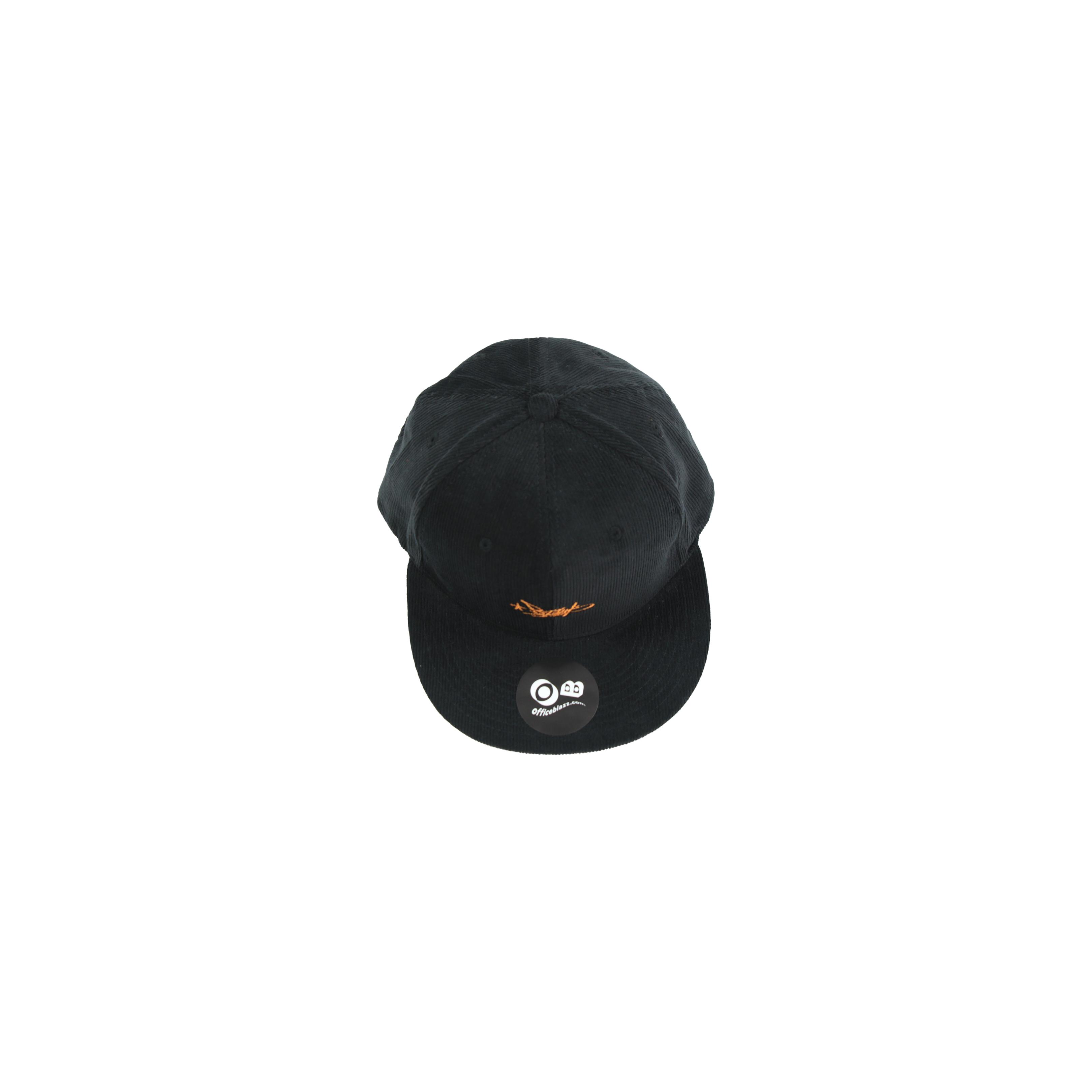 BZWS TAG CORDUROY B.B CAP [BLACK]