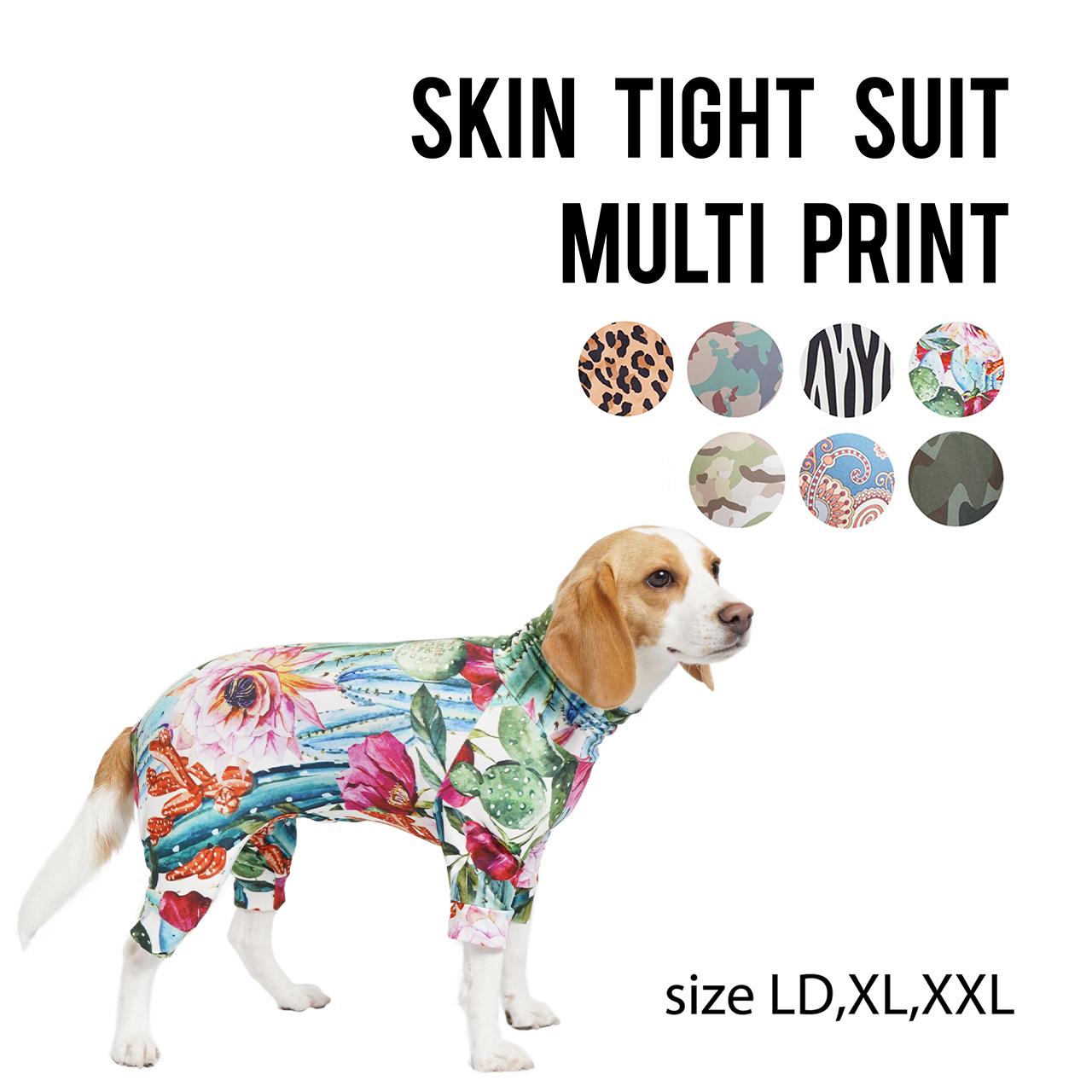 SKIN TIGHT SUIT MULTI PRINT(LD,XL,XXL) スキンタイトスーツマルチプリント