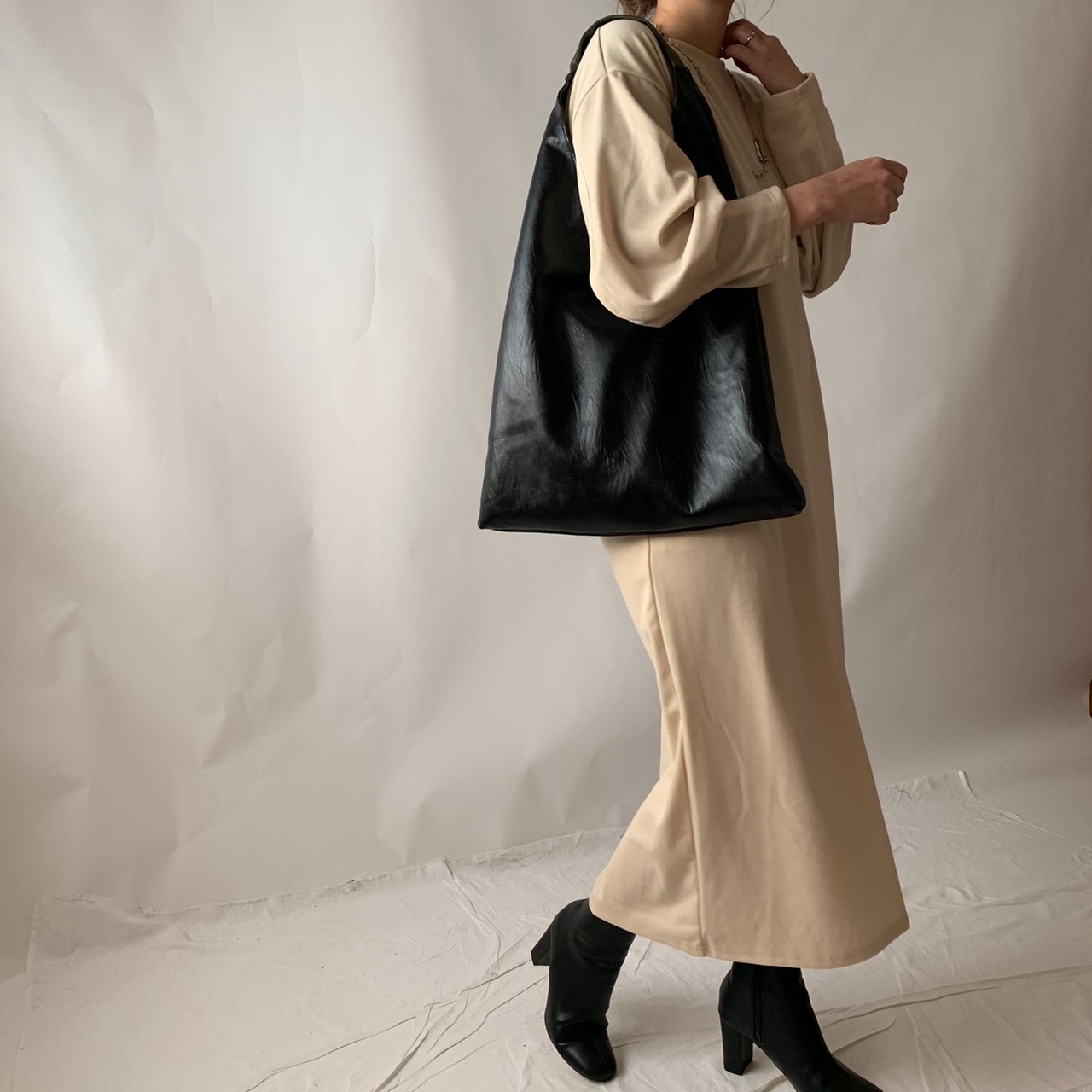 【asyu】reversible shoulder bag