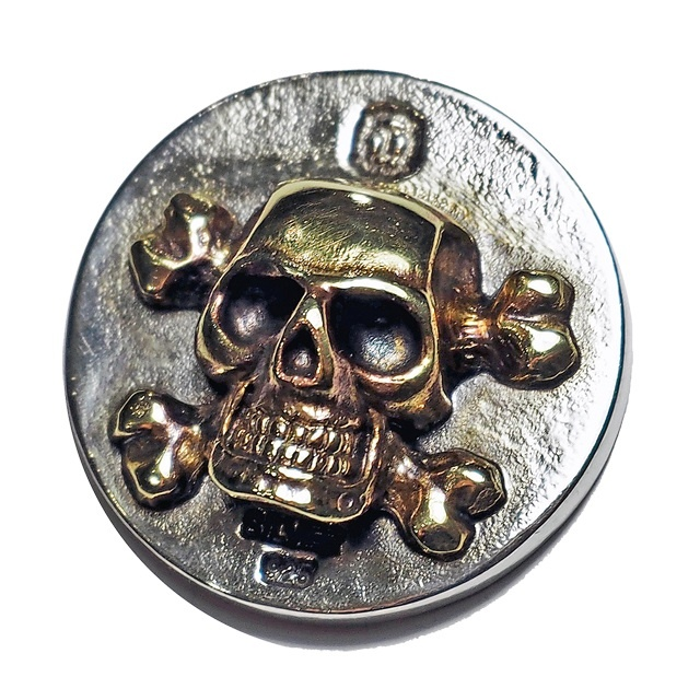 "Skull Marker ""Jack"" (ゴルフボールマーカー)"