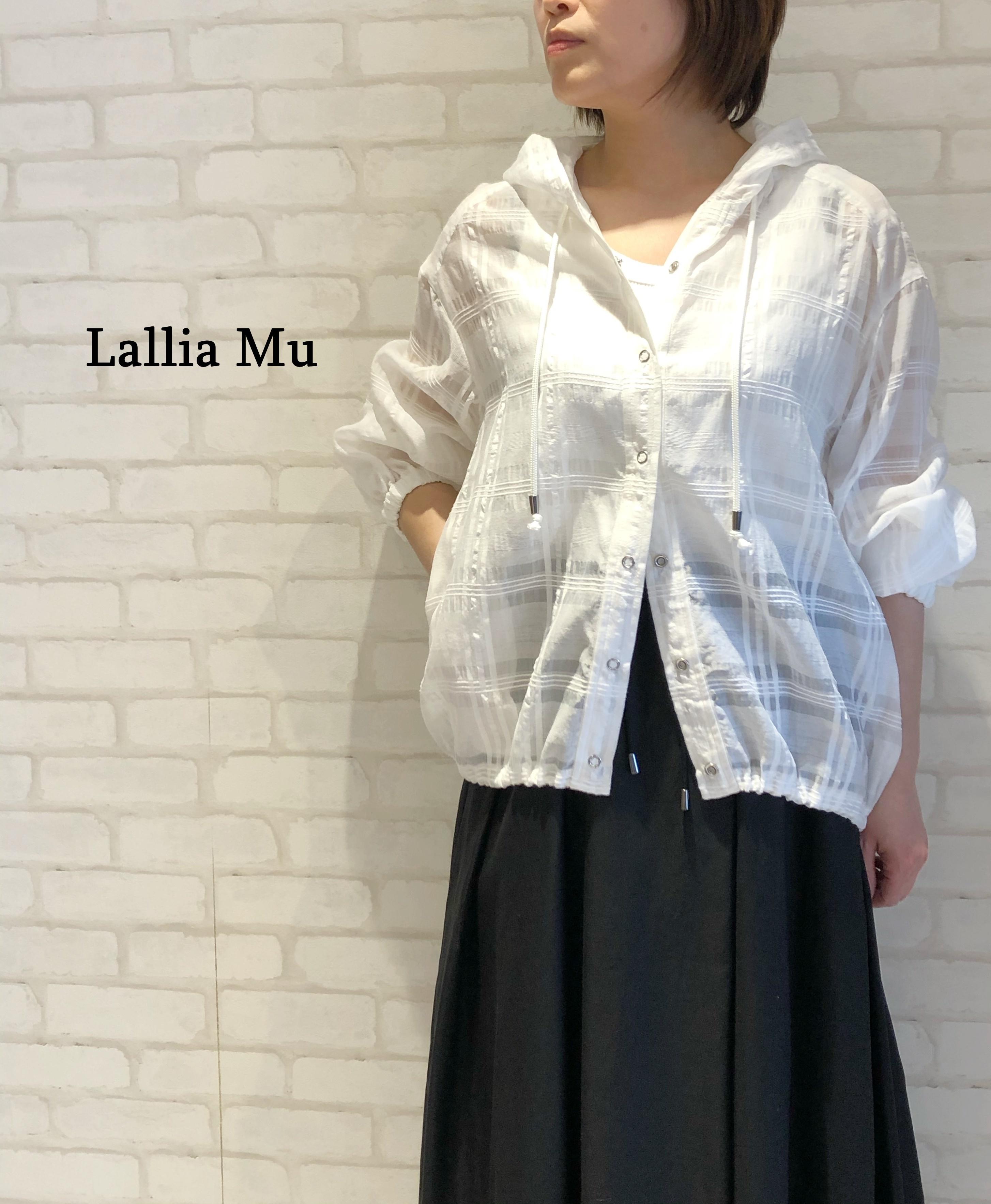 Lallia Mu/シアーブルゾン/2112274(ホワイト)