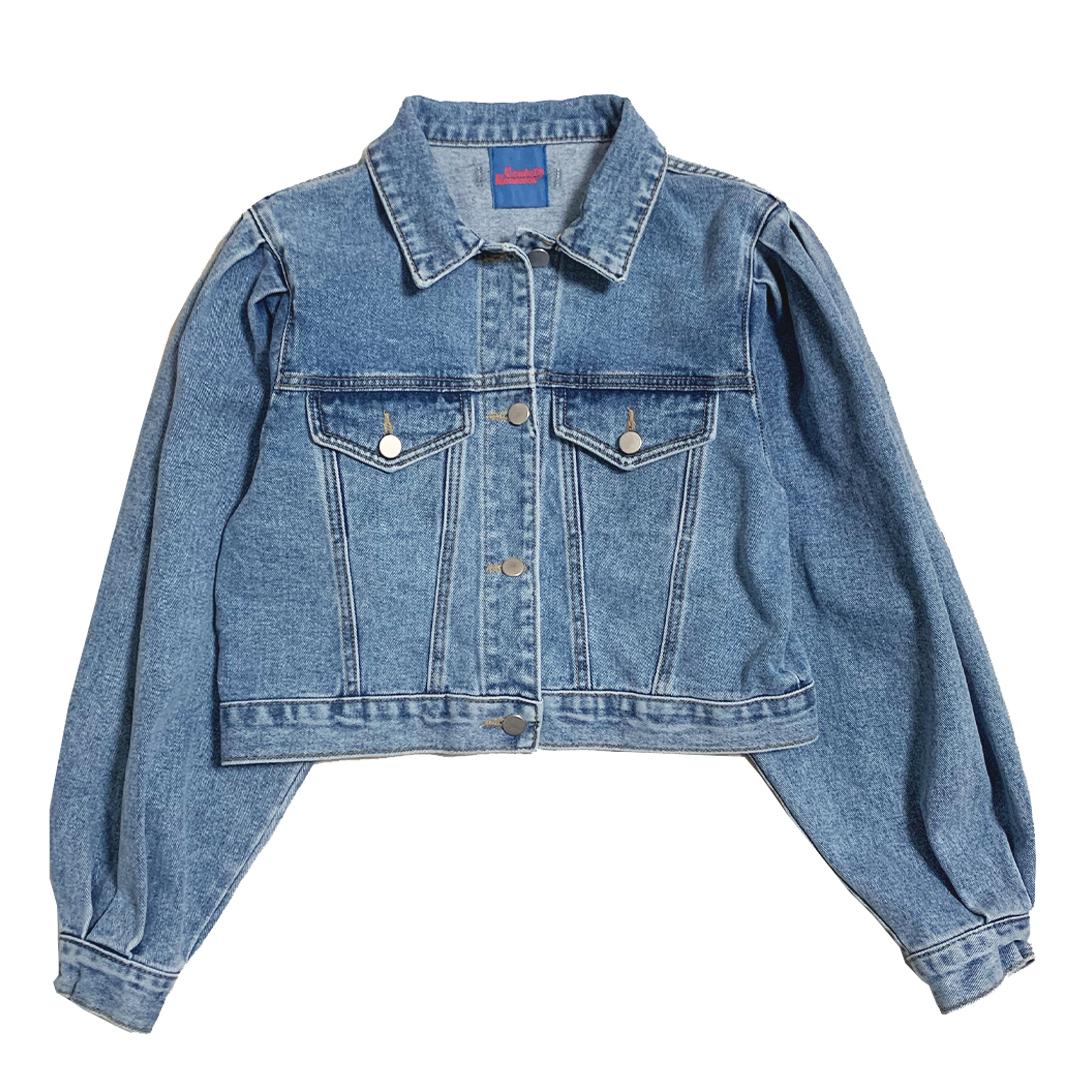 【Crudely Hommes】Drew's Washed Denim Jacket