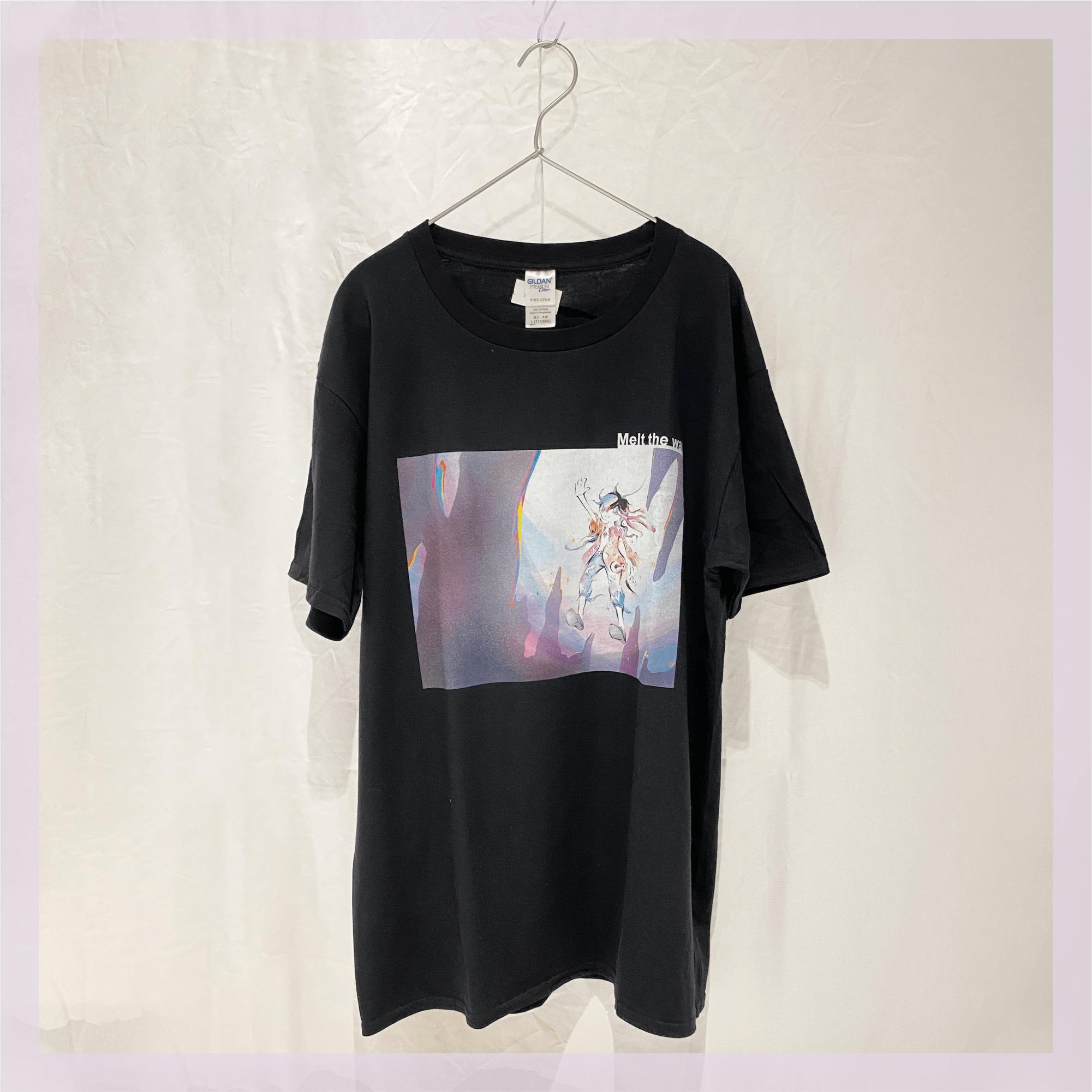 【Tシャツ】 壁は幻。溶かしてしまえ / ブラック