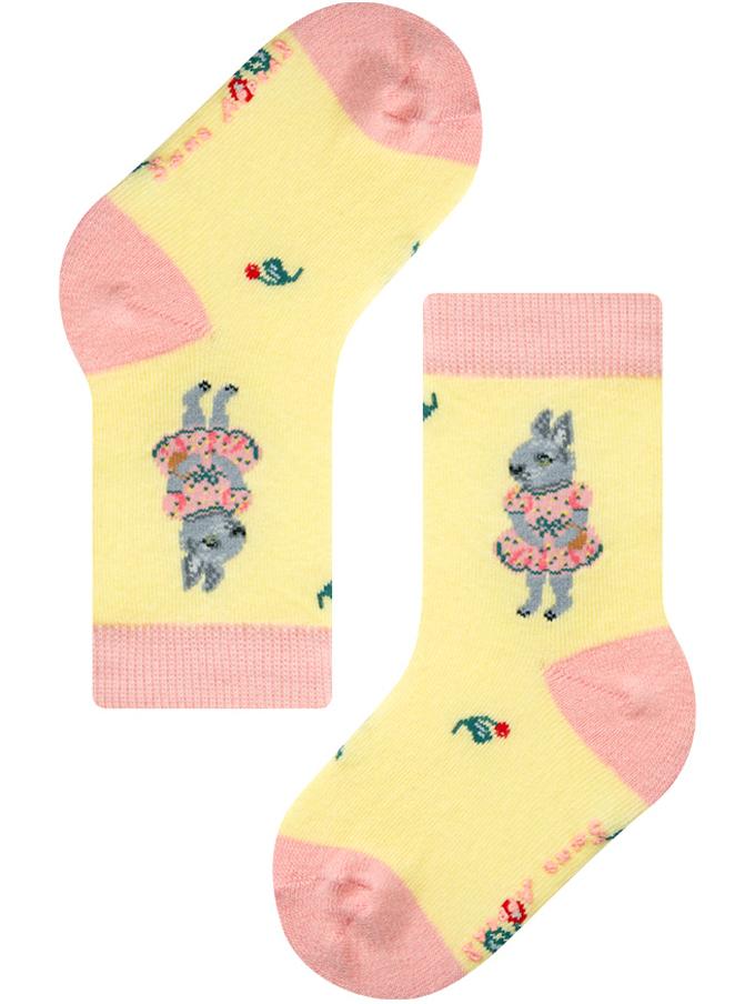 1-2years【Nathalie Lete】BABY PINK DRESS RABBIT