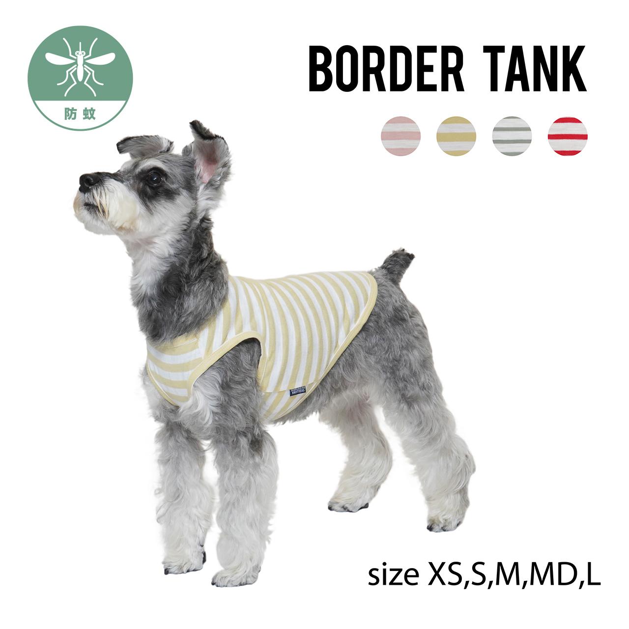 BORDER TANK(XS,S,M,MD,L) ボーダータンク