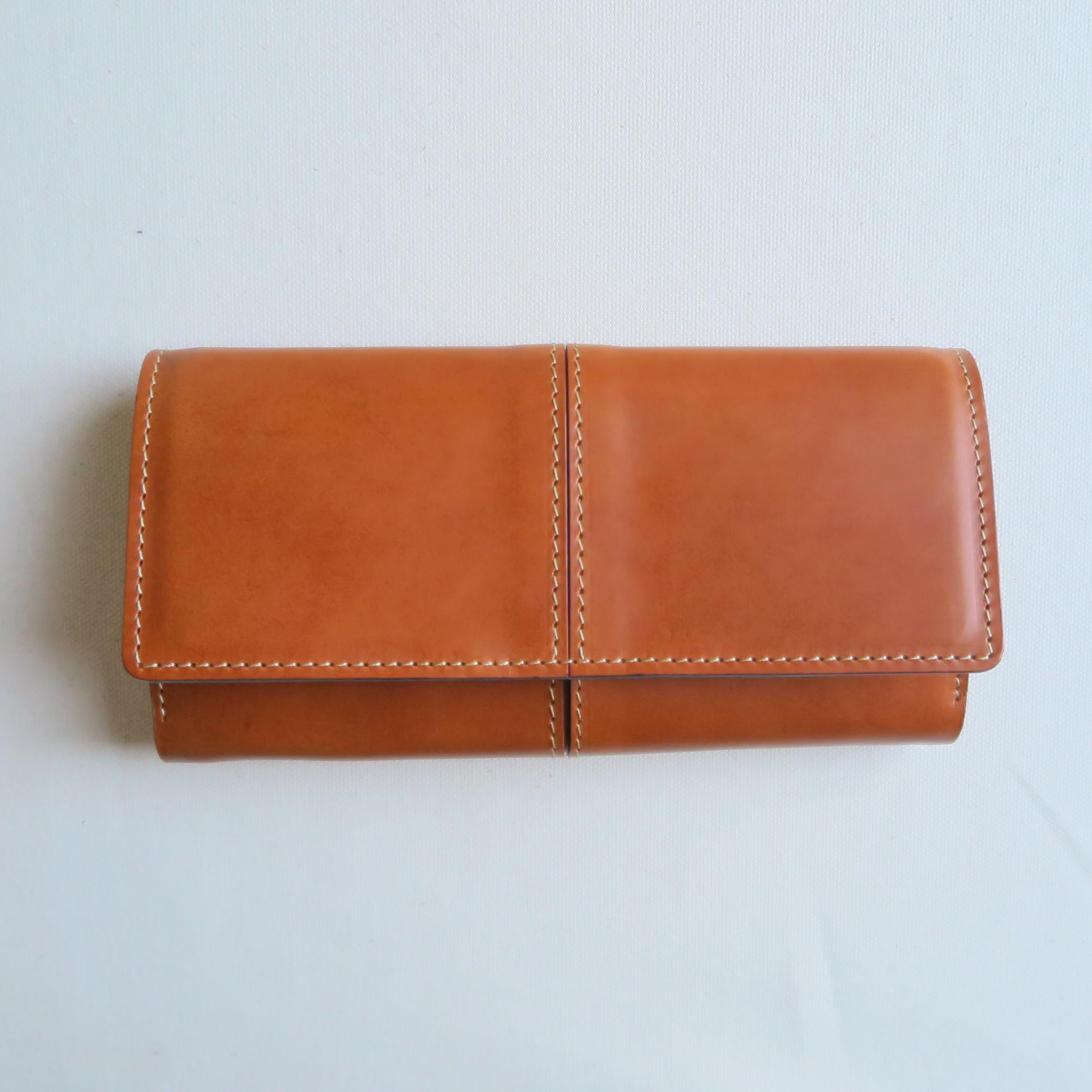 Garçon wallet BROWN