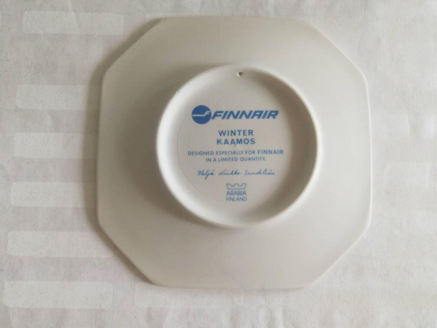 陶板 / アラビア ヴィンテージ / FINNAIR限定 WINTER / ヘルヤ (個装箱入り)