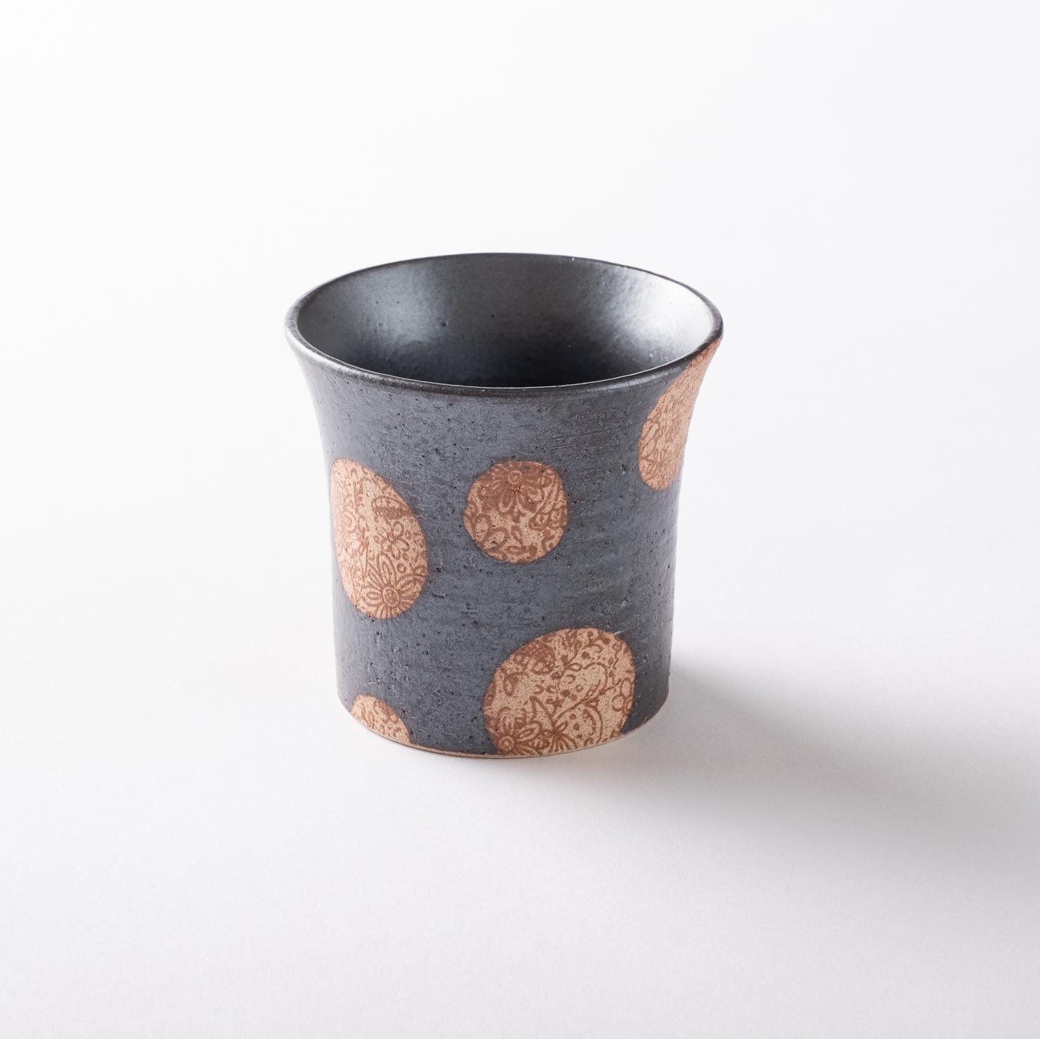 【美濃焼】フリーカップ「SARASA カップ S 黒」