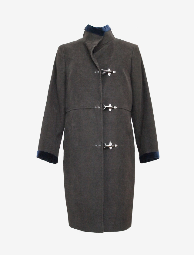 FAY STAND-UP COLLAR COAT