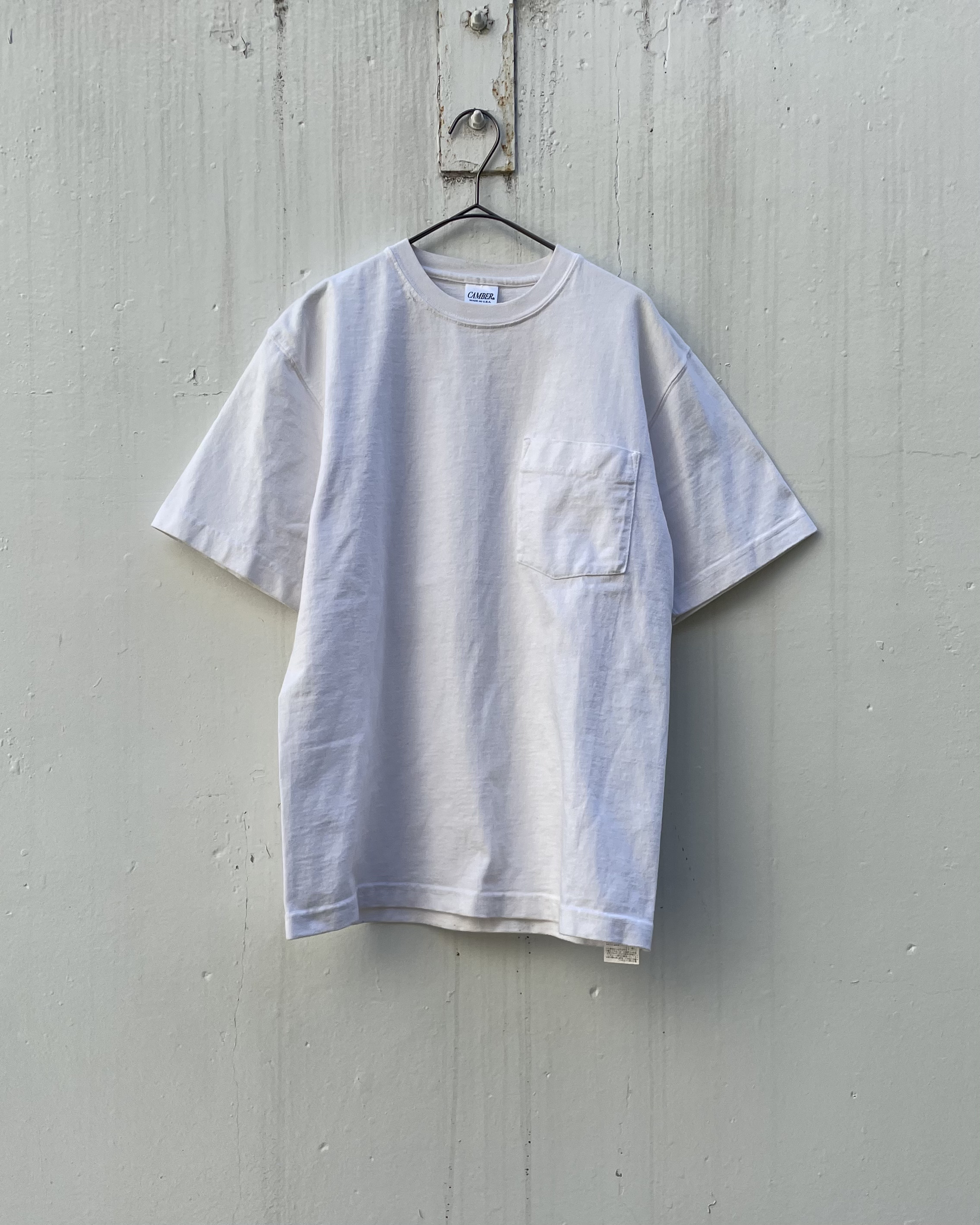 (CS426)CAMBER heavy weight pocket T-shirt made in USA