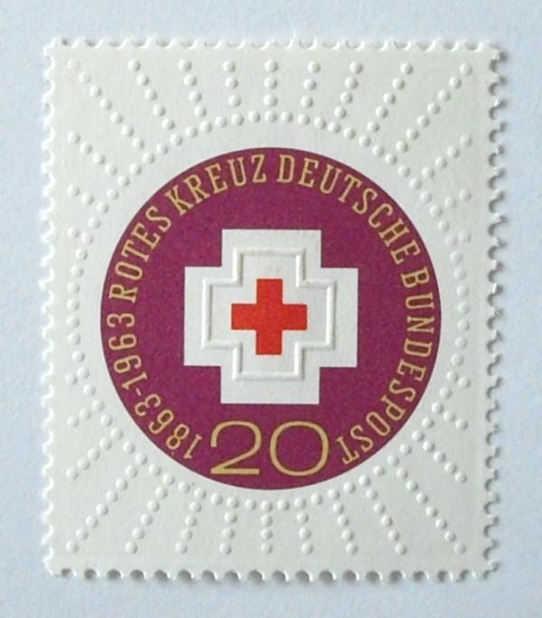 赤十字100年 / ドイツ 1963