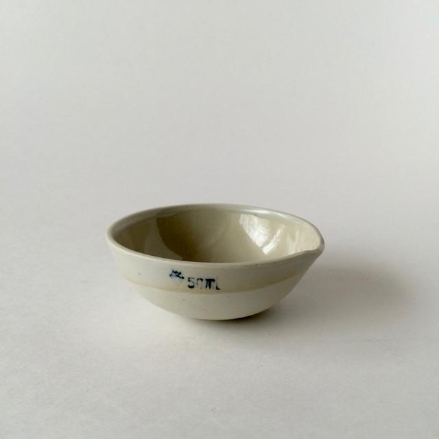 蒸発皿 50ml 理科実験器具 Evaporating Dish 50ml