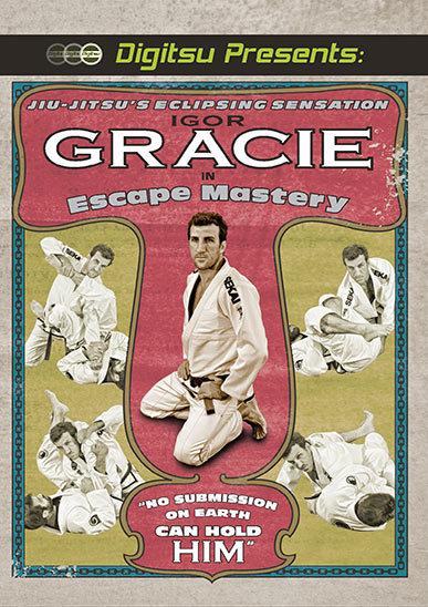 イゴール・グレイシー  エスケープマスタリー(逃げ方に精通する)DVD ブラジリアン柔術教則