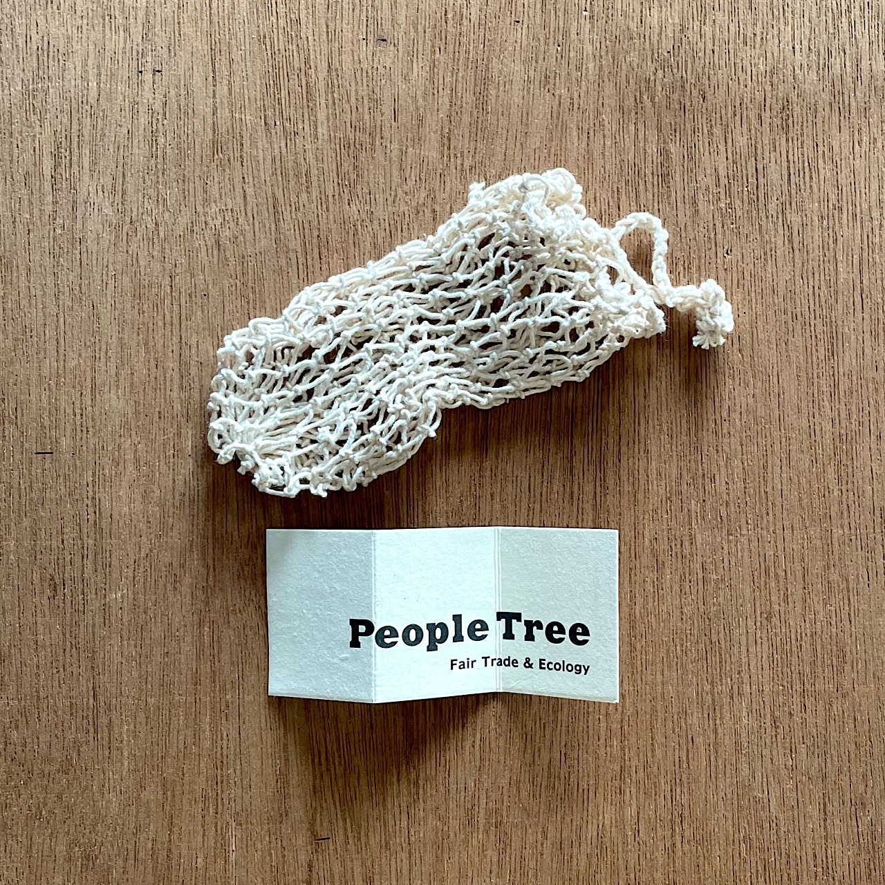 PeopleTree 綿メッシュの石鹸袋
