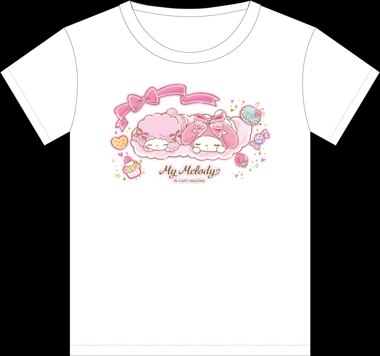 My Melody Cafe Tシャツ(おひるね)