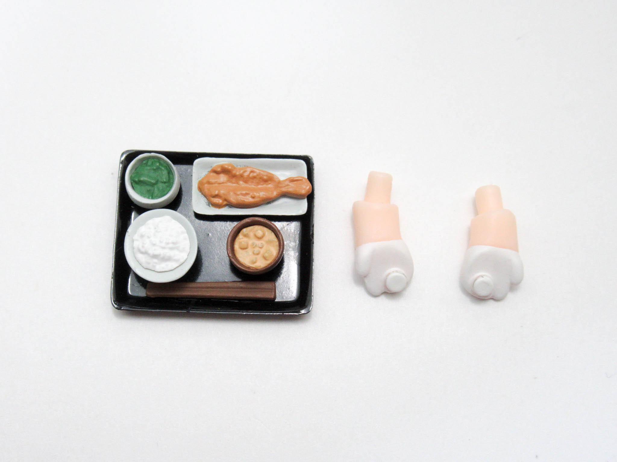 再入荷【577】 秋津洲 小物パーツ 朝食セット ねんどろいど
