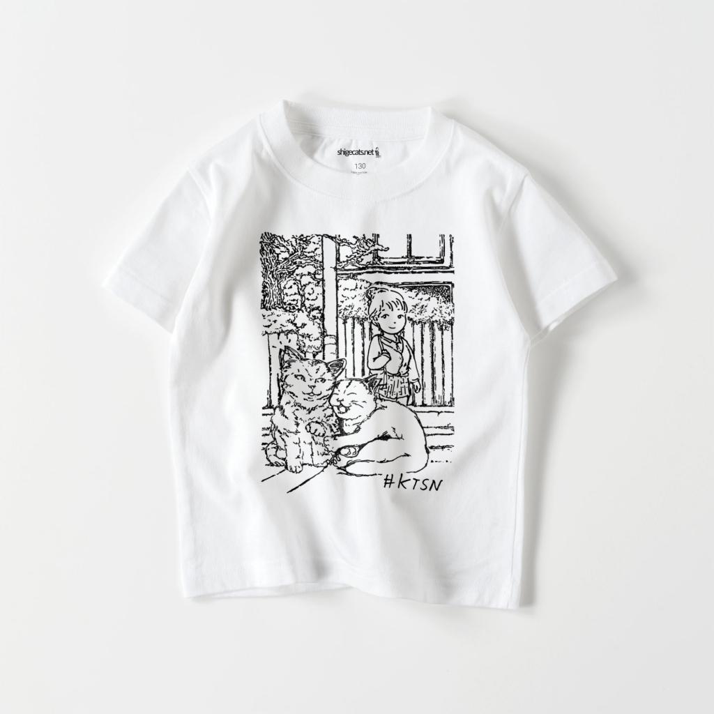#KTSN×dechi キッズTシャツ