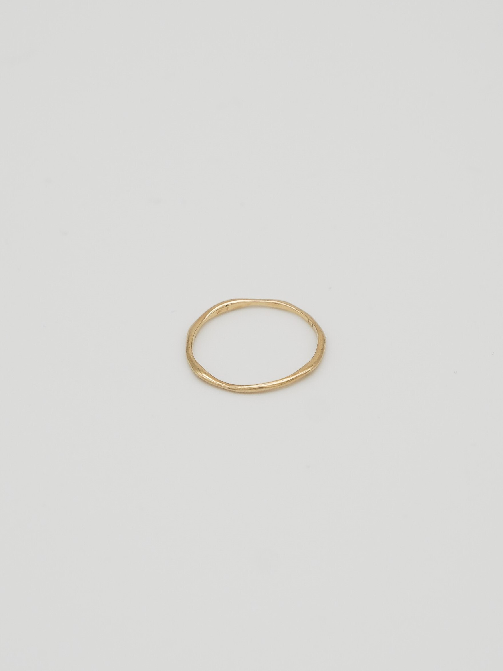 twig ring s / gold K14(再入荷)
