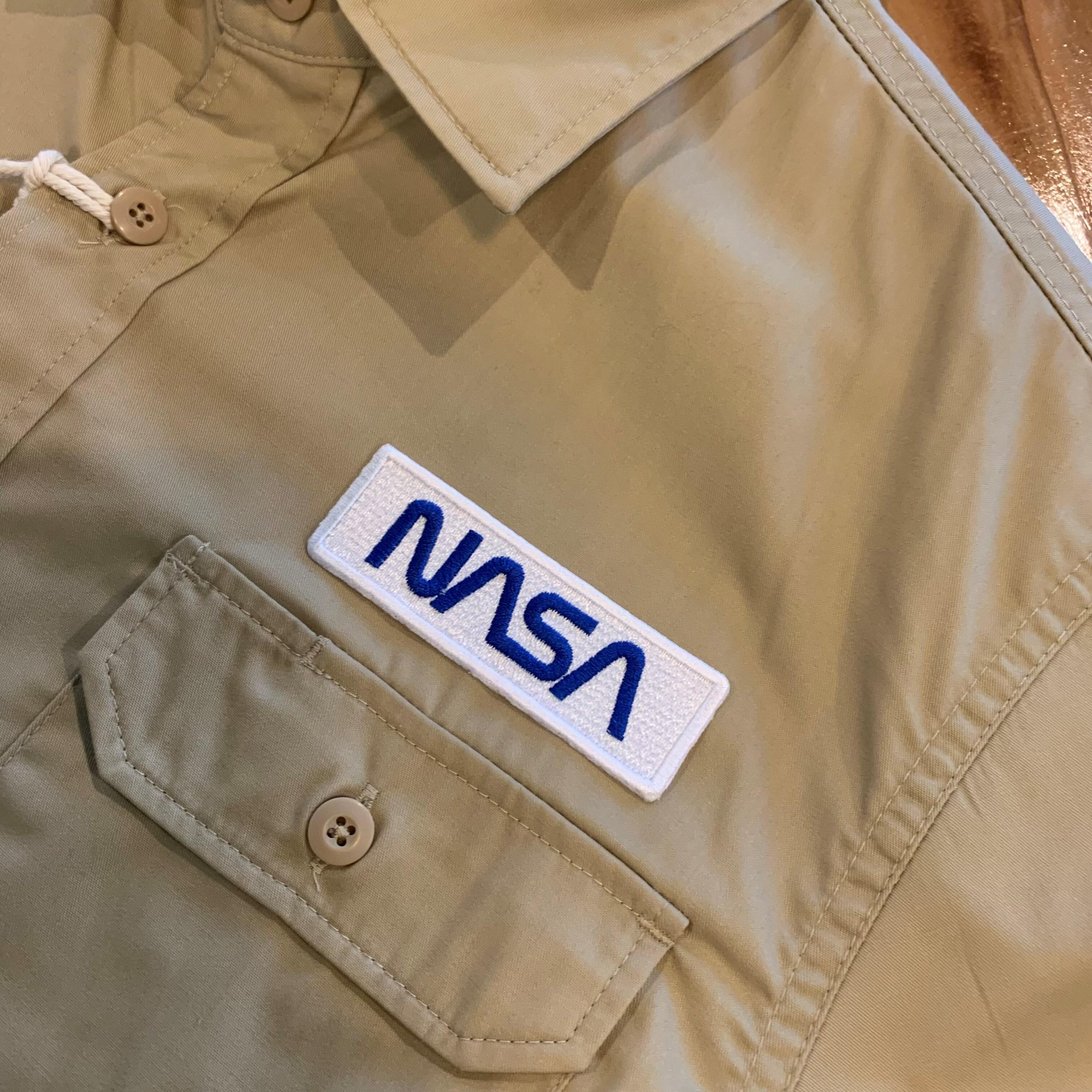 PATCHIES【ワッペン】 NASA ナサ ワークシャツ
