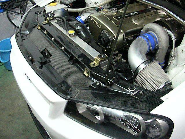 ジュラテック F1 クーリングリアルカーボンパネル / JURATEH F1 Cooling Panel Real Carbon