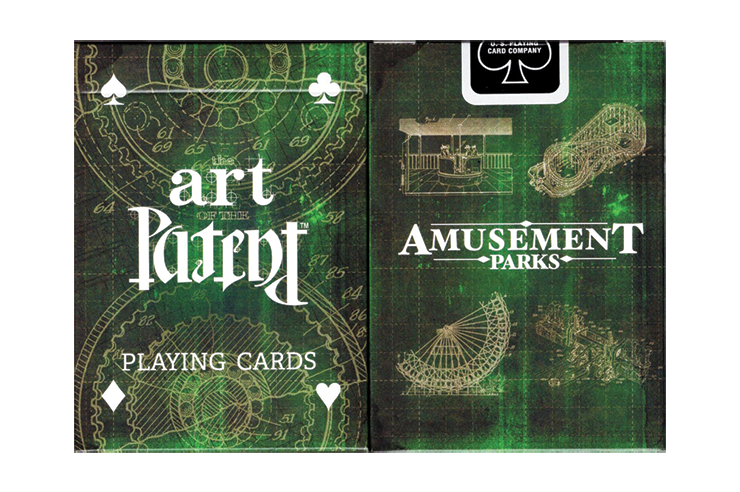 Limited Edition Art of the Patent (Amusement) Playing Cards(訳あり)