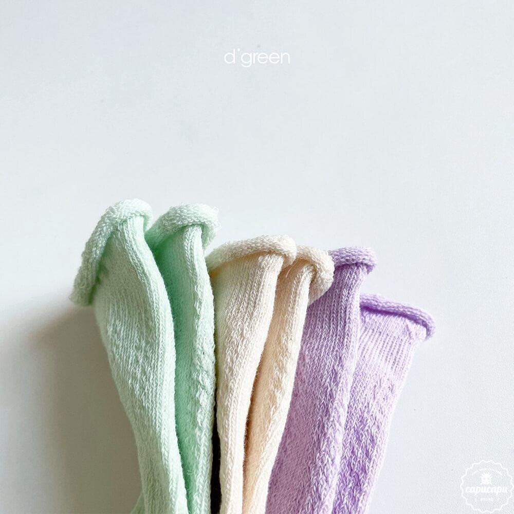«予約»«3足セット» Rumi socks 3set ルミ ソックス 靴下