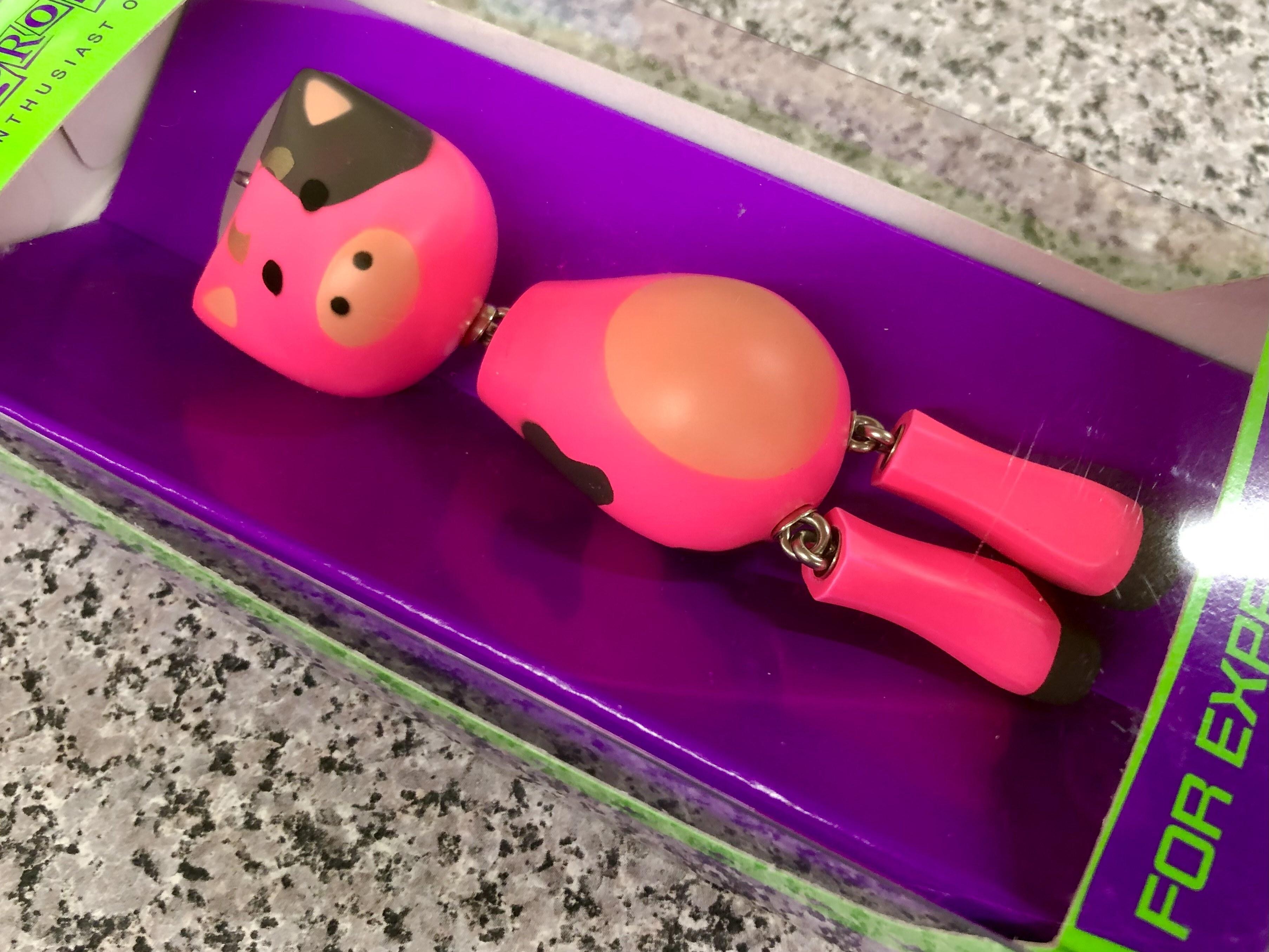 フロッグプロダクツ / ウッド牛ドール (ピンク牛カラー)