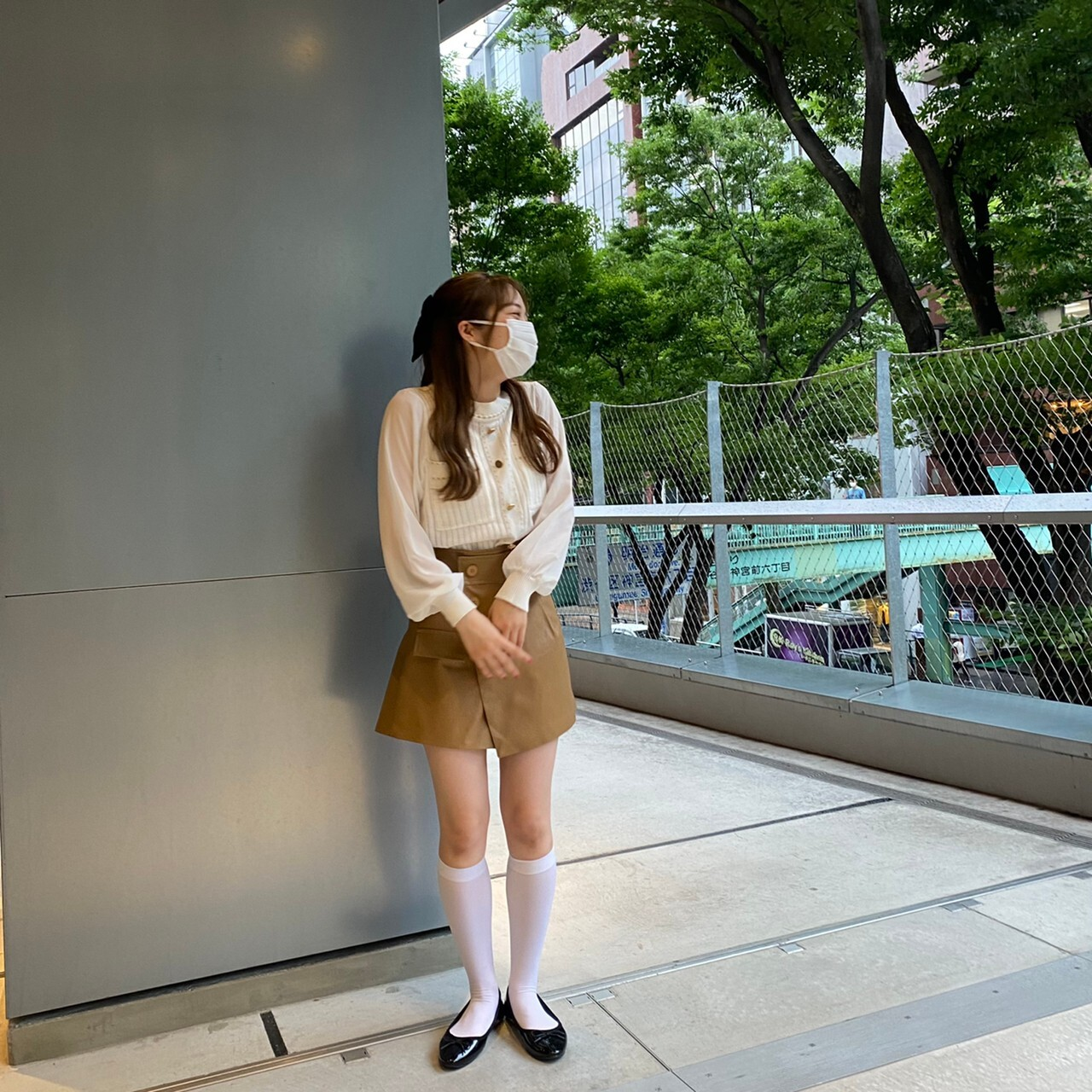 【LAST1】classical see-through knit