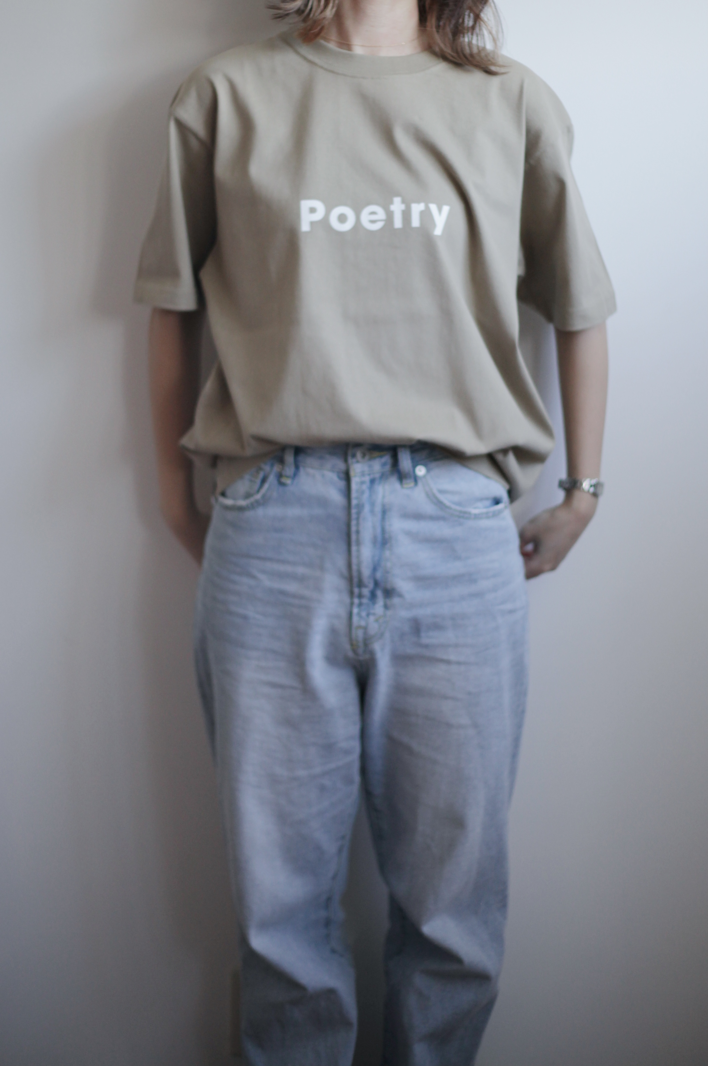 【POET MEETS DUBWISE(ポエトミーツダブワイズ)】Poetry T-Shirt