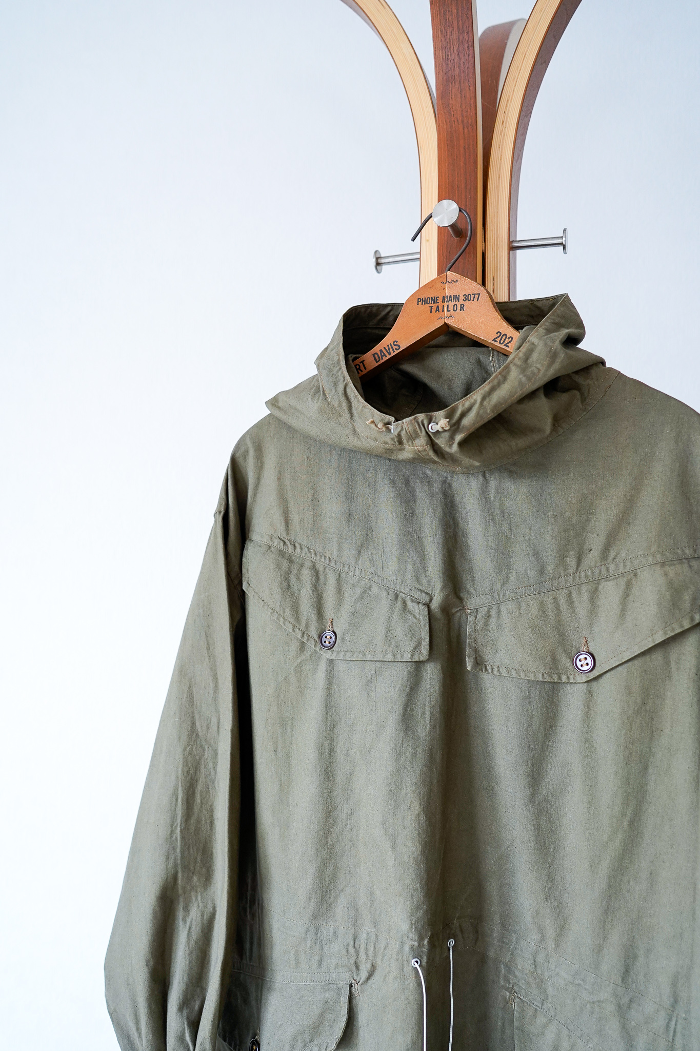"""【1950s, Condition◎】""""Mle50"""" Alpine Smock, French Army / v652"""