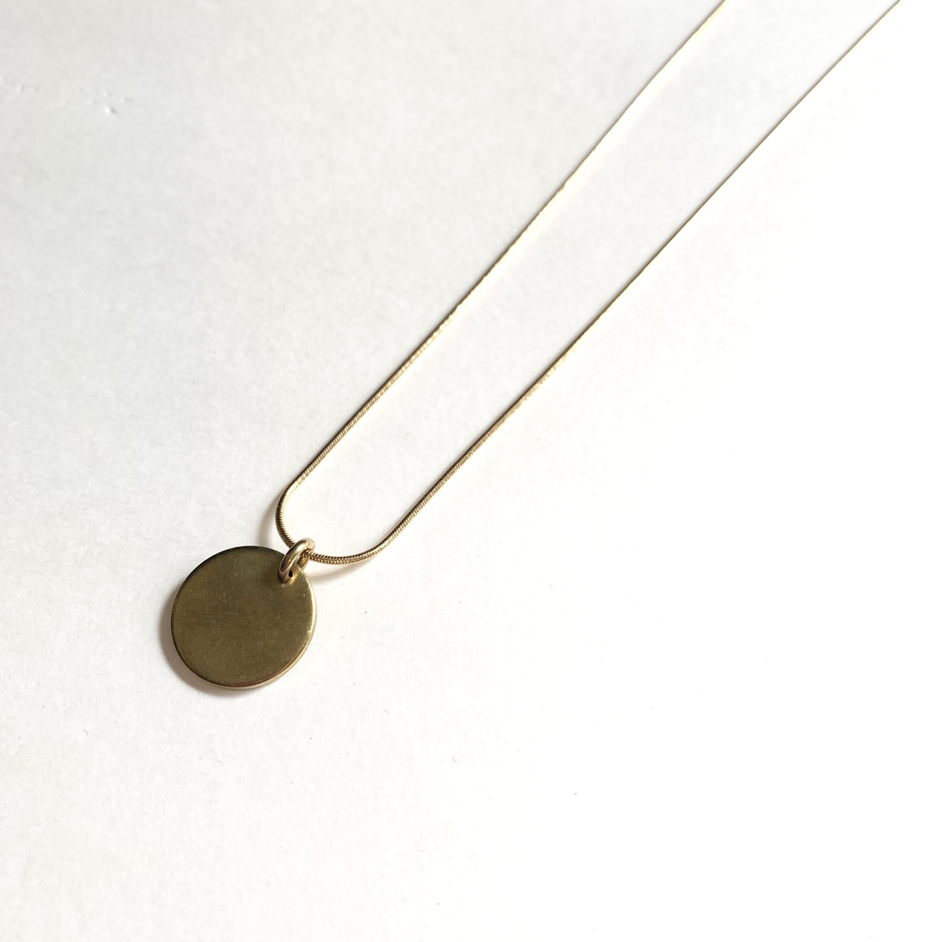Coin necklace-15 NC-022