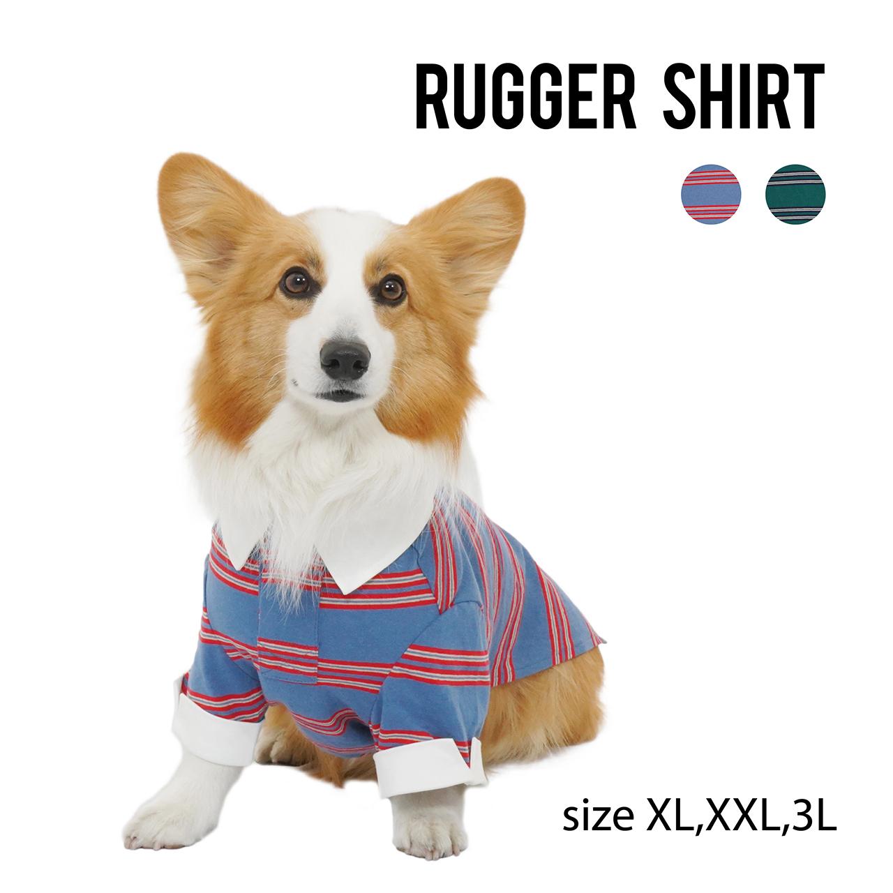 RUGGER SHIRT(XL,XXL,3L) ラガーシャツ