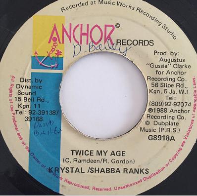 Krystal(クリスタル) & Shabba Ranks(シャバランクス) - Twice My Age【7'】
