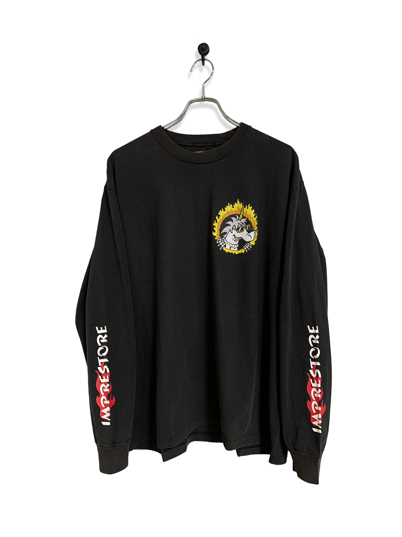 Original Long Sleeve-T / FIRE / black