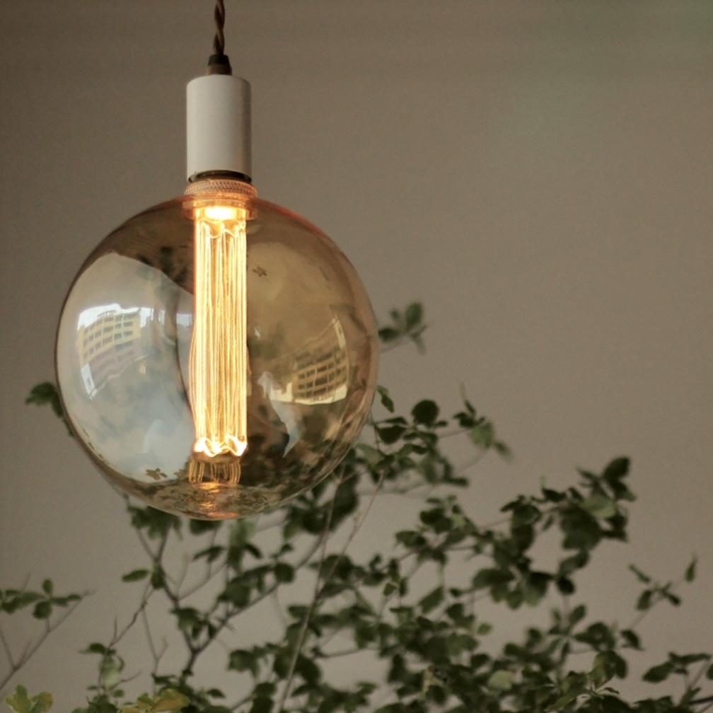 (非調光)E26 エジソン バルブ LED ノスタルジア ビッググローブ200